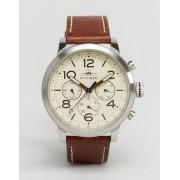 Tommy Hilfiger Кожаные часы с хронографом Tommy Hilfiger Jake 1791230 - Коричневый