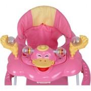 Harry Honey Musical Baby Walker (Pink Color)
