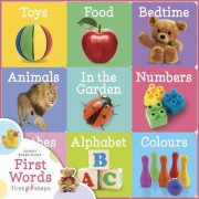 First Steps Chunky Board Books - First Words
