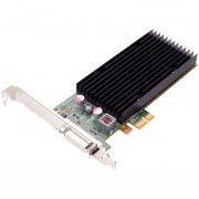 PNY VCNVS300X1-PB Quadro 300 x1 Graphic Card - 512 MB DDR3 SDRAM - PCI Express 2.0 x1 - 2048 x 1535 - DVI