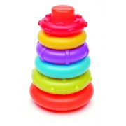Infantino Rockin Rings Stacking Game (Discontinued by Manufacturer)