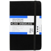 Moleskine S08435 - Cuaderno (9 cm, 14 cm) Negro - Los Angeles. Moleskine City Notebook