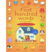 First Hundred Words in German (First hundred words sticker books)