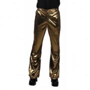 Gouden disco broek voor heren