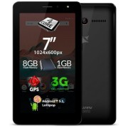 "Tableta AllView AX501Q, Procesor Quad-Core 1.3 GHz, TN LCD Capacitive touchscreen 7"", 1GB RAM, 8GB, 13MP, Wi-Fi, 3G, Android (Neagra)"