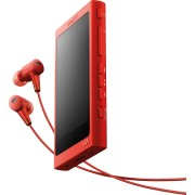 SONY NW-A35HN RT - WALKMAN® mit High-Resolution Audio, inkl. Kopfhörer