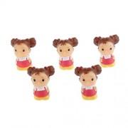 Imported 5Pcs Miniature Dollouse Fairy Garden Micro Landscape Bonsai Decor Fat Girl