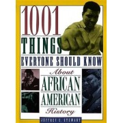 1001 Things Everyone Should Know about African American History by Jeffrey C Stewart