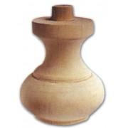 Pata Para Móviles de Madera de Cebolla Ontano 106 X 120 mm, Art. 03,0005