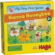 HABA My Very First Games - Hanna Honeybee Two Cooperative Color Die Games for Ages 2 and Up (Made in Germany)