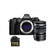 Aparat foto Mirrorless Olympus OM-D E-M5 Mark II 16 Mpx Black Body Kit 12-50mm
