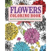 Flowers Coloring Book by Chartwell Books