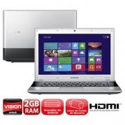 NOTEBOOK SAMSUNG DUAL CORE 2GB RAM HD 320GB WIFI HDMI WINDOWS 8