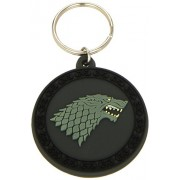 Pyramid intl - Portachiavi Game Of Thrones - Stark Gomme 5cm - 5050293383668