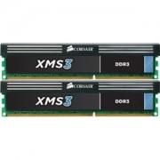 Memorie Corsair XMS3 16GB (2x8GB) DDR3, 1600MHz, PC3-12800, CL11, Dual Channel Kit, CMX16GX3M2A1600C11
