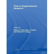 Time in Organizational Research by Robert A. Roe