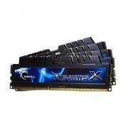G.Skill RipJaws X Series 16 Go (kit 4x 4 Go) DDR3-SDRAM PC3-10600 - F3-10666CL7Q-16GBXH (garantie 10 ans par G.Skill) (F3-10666CL7Q-16GBXH)