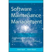 Software Maintenance Management by Alain April
