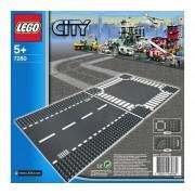 LEGO-City - route droite et carrefour - 7280-