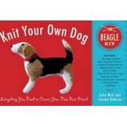 Knit Your Own Dog: Beagle Kit by Sally Muir