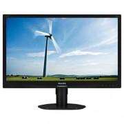 "Monitor Philips 220S4LCB, 22"", LED, 1680x1050, 1000:1, 5ms, 250cd, D-SUB, DVI, pivot, čierny"