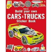Build Your Own Cars and Trucks Sticker Book by Simon Tudhope