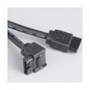 Cablu Akasa SATA3 50cm, AK-CBSA01-05BK