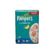 Scutece Pampers Giant Pack 4 Active Baby Pentru Copii