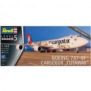 Boeing 747-8F Cargolux Cutaway Revell