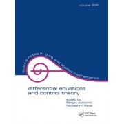 Differential Equations And Control Theory by Sergiu Aizicovici