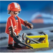 Playmobil Railroad Worker