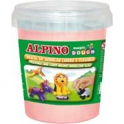 Plastelina magica, 160 grame/cutie, ALPINO - roz