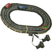 CROWN 2 F1 Cars Road Racing Indoor Game Electronic Track Remote Control Race Toy