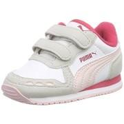 Adidasi Puma Cabana alb roz
