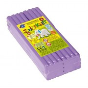 Feuchtmann Spielwaren 628.0305-6 - Plastilina per bambini, 500 g, lilla