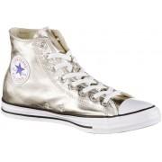 CONVERSE Chuck Taylor All Star Hi Metallics Sneaker Damen in Gold, Größe 37 1/2