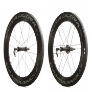Campagnolo Bora Ultra 80 Tubular Wheelset - Dark Label - Campagnolo