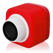 camara al aire libre autofoto w / wi-fi para IOS / dispositivo Android - rojo + blanco
