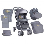 Bertoni Kolica Apollo Set Grey Baby Owls 10020911729
