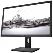 "Monitor TN LED AOC 21.5"" E2275PWJ, Full HD (1920 x 1080), HDMI, VGA, DVI, 2 ms, Boxe, Pivot (Negru) + Bitdefender Antivirus Plus 2017, 1 PC, 1 an, Licenta noua, Scratch Card"