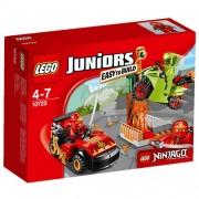 LEGO Juniors - 10722 - L'attaque Du Serpent Ninjago