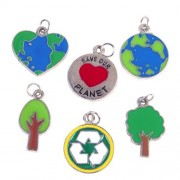Save Our Planet Jewelry Charms (3 dz)