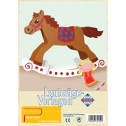 Parti Pebaro traforo cavallo a dondolo stampa tema plexiglass