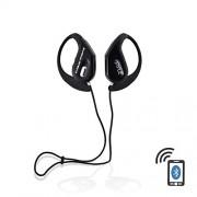 Pyle Casque audio Bluetooth avec microphone intégré étanche Noir