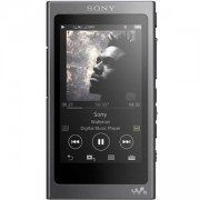 Mp3 плейър, Sony NW-A35, 16GB, Hi-Res Audio, 7.8cm screen, NFC/Bluetooth, Черен, NWA35B.CEW