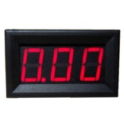 Ampermeter Červený 0-10A