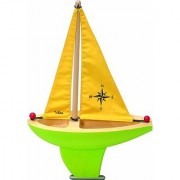 Vilac Large Sailing Boat Green