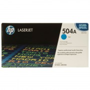 HP 504A Cyan LaserJet Toner Cartridge (CE251A)
