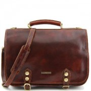 Sacoche Business Cuir Homme ou Femme -Tuscany Leather-