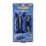 Revell Monogram 1:100 Scale Snaptite Blue Angels F-18 Hornet Model Kit